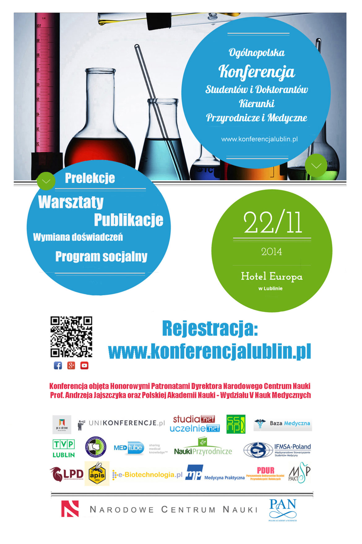 Ogólnopolska Konferencja Studentów i Doktorantów: Kierunki Przyrodnicze i Medyczne